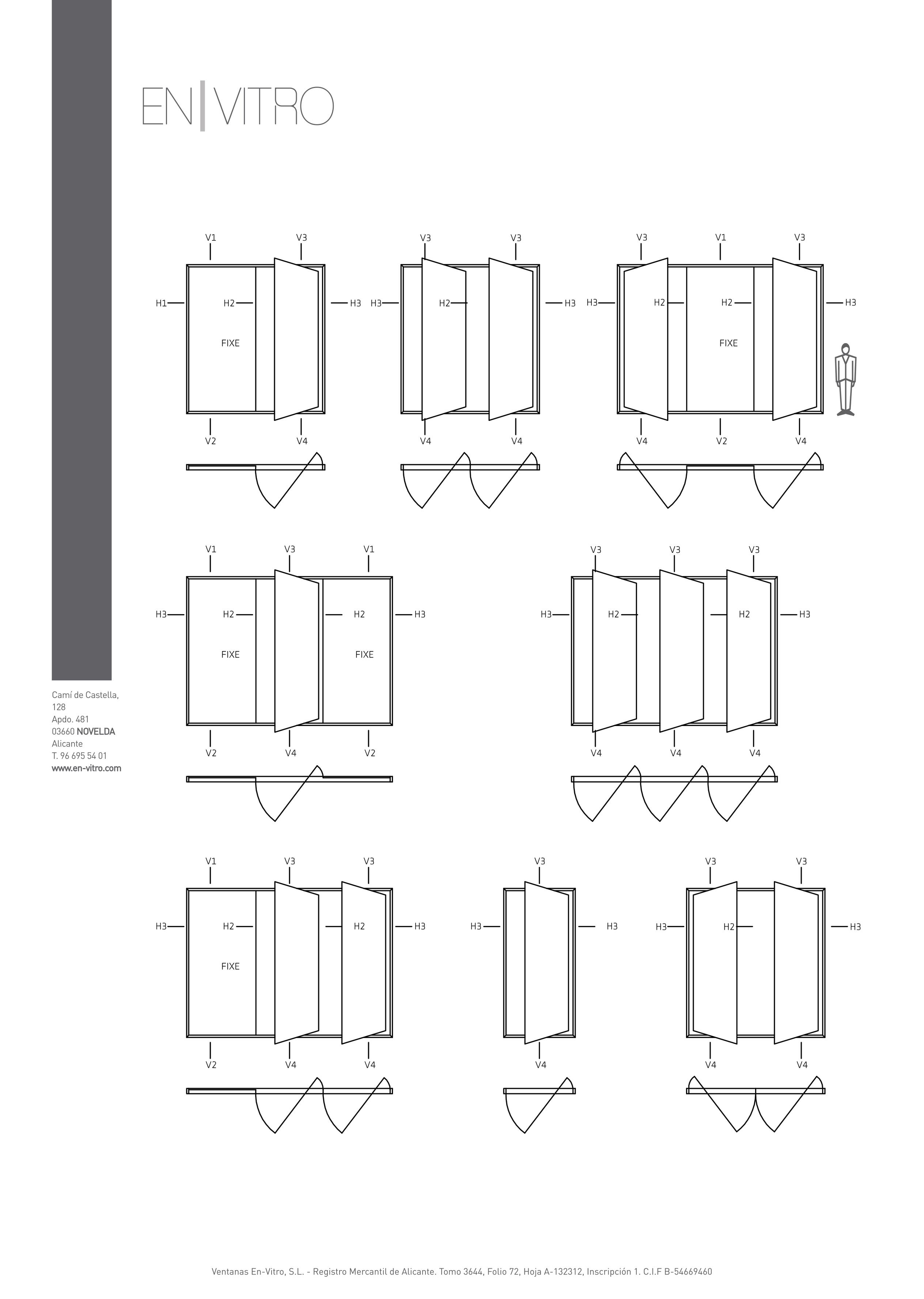 detalle apertura pivotante 1 - Puerta Pivotante