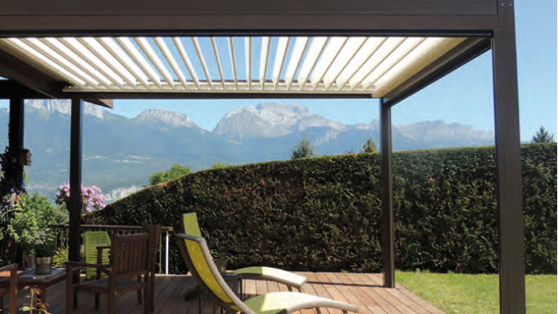 seguramente ms de una vez ha pensado que le gustara sacar ms partido a su terraza o jardn y poder disfrutar de la vida al aire libre durante todo el ao - Pergola Aluminio